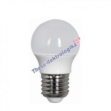 Λαμπτήρας LED σφαιρικός 6W E27 6500K 240V