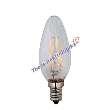 Λαμπτήρας LED Διακοσμητικός Filament MINION 3W E14 3000K 240V