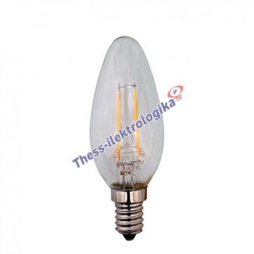 Λαμπτήρας LED Διακοσμητικός Filament MINION 4W E14 3000K 240V