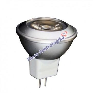 Λαμπτήρας LED SPOT 1.5W GU4 6500K 12V AC