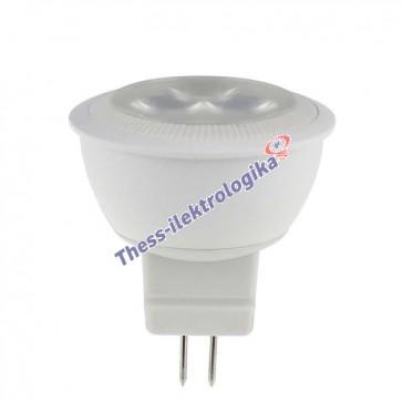 Λαμπτήρας LED SPOT 3W GU4 3000K 12V AC/DC