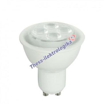 Λαμπτήρας LED SPOT 4W GU10 3000K 240V
