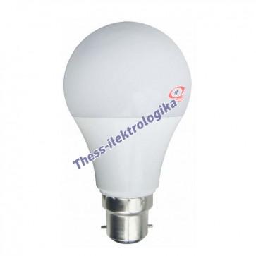 Λαμπτήρας LED SMD κοινός 11W B22 3000K 240V