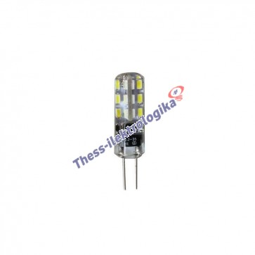 Λαμπτήρας LED SMD σιλικόνης 1.5W G4 6500K 12V AC/DC