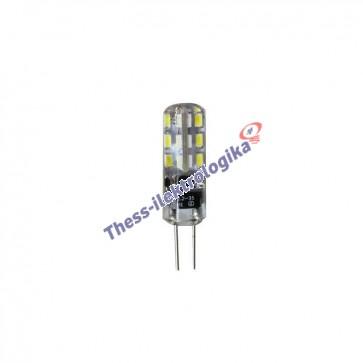 Λαμπτήρας LED SMD σιλικόνης 1.5W G4 3000K 12V AC/DC