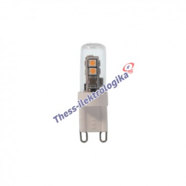 Λαμπτήρας LED SMD σιλικόνης 2.5W G9 6500K 240V