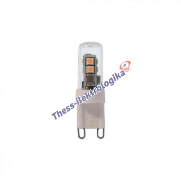 Λαμπτήρας LED SMD σιλικόνης 2.5W G9 3000K 240V