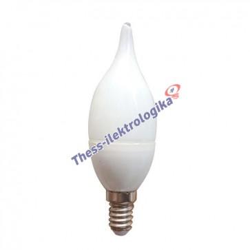 Λαμπτήρας LED Minion Τσουνί 6W E14 6500K 240V