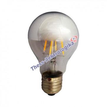 Λαμπτήρας LED Διακοσμητικός Filament ανεστραμμένος 6W E27 3000K 240V DIMMABLE