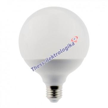 Λαμπτήρας LED γλόμπος 18W Dimmable E27 3000K 240V