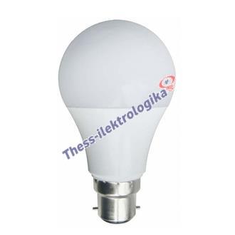 Λαμπτήρας LED SMD κοινός 8W B22 6500K 240V