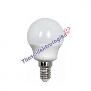 Λαμπτήρας LED σφαιρικός 4W E14 3000K 240V