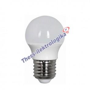Λαμπτήρας LED σφαιρικός 4W E27 3000K 240V