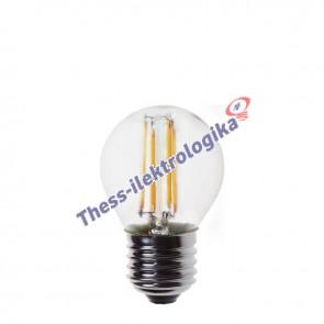 Λαμπτήρας LED Διακοσμητικός Filament σφαιρικός 3W E27 3000K 240V