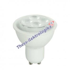 Λαμπτήρας LED SPOT 4W GU10 6500K 240V