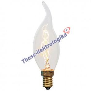 Λαμπτήρας Διακοσμητικός Edison Κερί - 25W - Ε14 240V