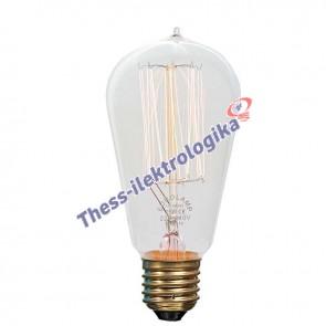 Λαμπτήρας Διακοσμητικός Edison 25W Ε27 240V