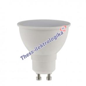 Λαμπτήρας LED SPOT 6W GU10 6500K 240V