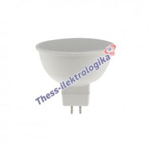 Λαμπτήρας LED SPOT 5W GU5.3 6500K 12V AC/DC